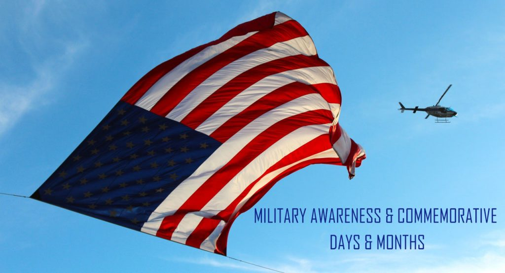 military-awareness-commemorative-days- military related commemorative