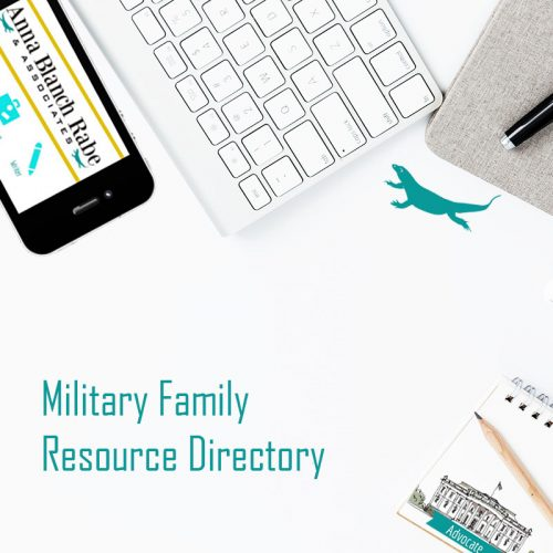 military family resource directory directory for military families military spouse resources anna blanch rabe