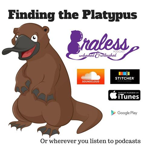 braless podcast erin whitehead anna blanch rabe finding the platypus