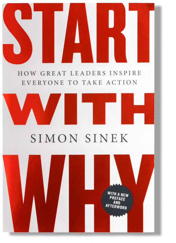 5 books to help you grow start with why sinek rabe