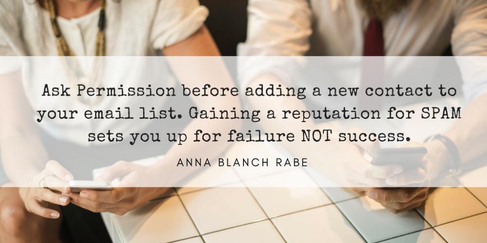 networking rockstar Anna Blanch rabe