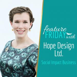 Lauren Hope Social impact business hope in design